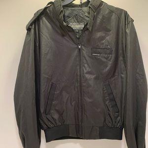 Members only black jacket men's size 42